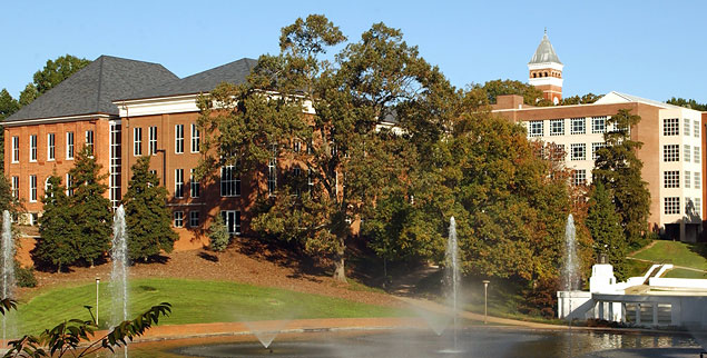Brackett Hall, home to the Department of Political Science at Clemson University