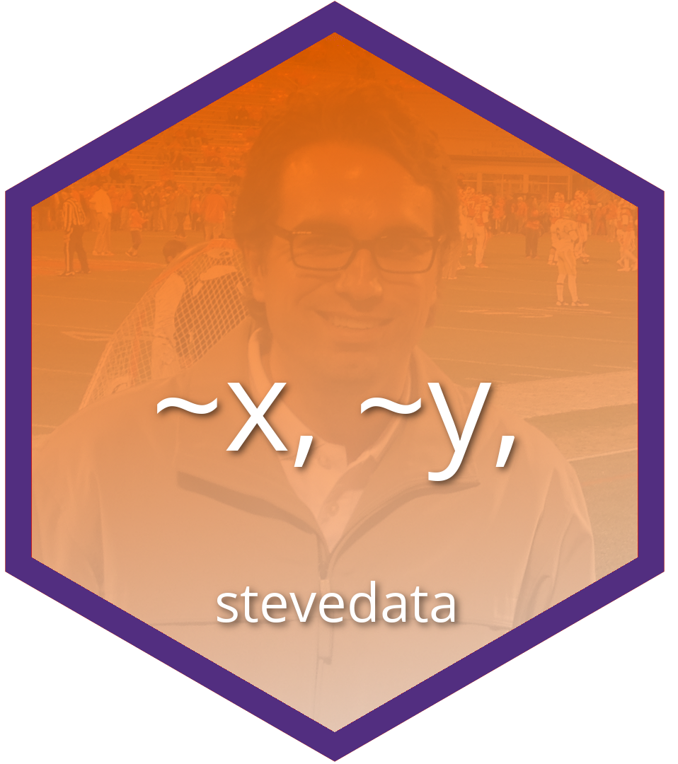 My stevedata  hexlogo